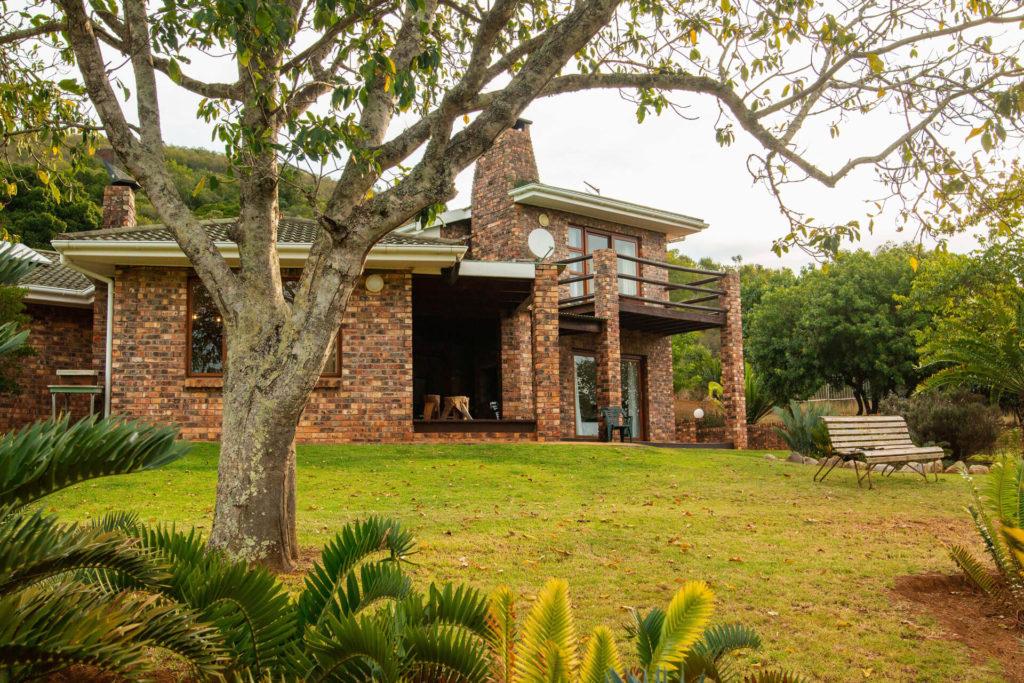 Main Farmhouse side view