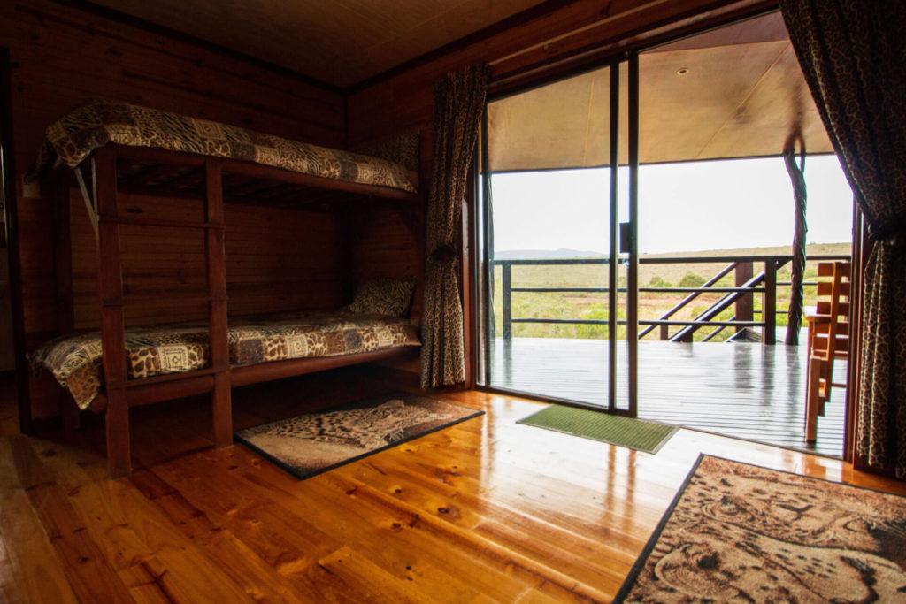 Mpunzi Log Cabin bunk bed
