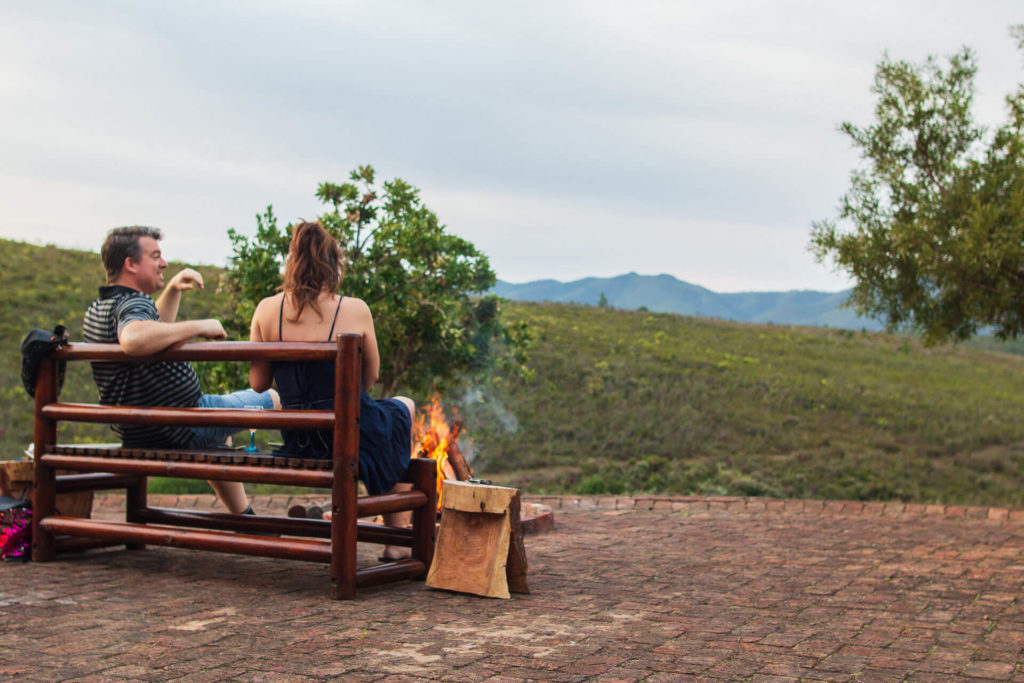 Fire place at Mbabala Lapa