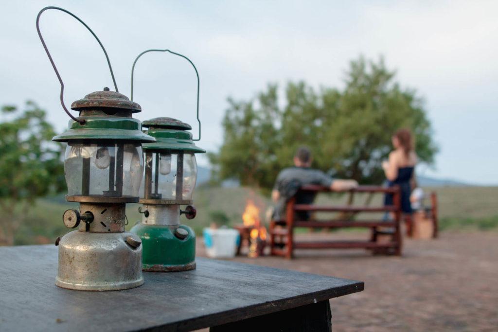 Lanterns at Mbabala Lapa