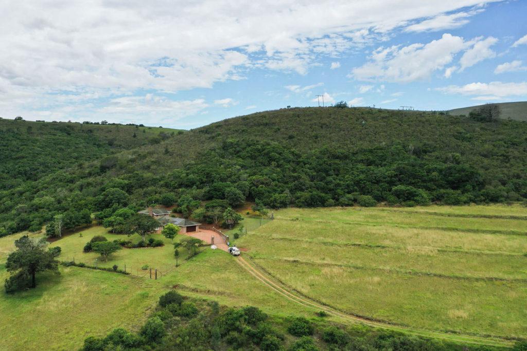 Arial View of Main Farmhouse